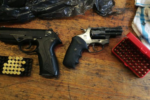More illegal firearms recovered across KZN. Photo: SAPS