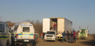Police stop truck with R1.16 mil worth of illicit cigarettes, Madikwe. Photo: SAPS