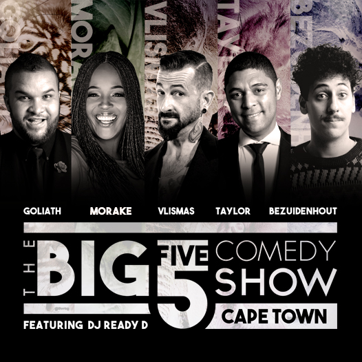 The Big 5 Comedy Show Get Ready For High-Sterics With An All New Line-Up This November