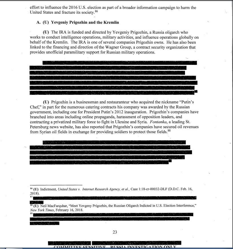 Senate Intelligence Committee Report on Alleged Russian Meddling in 2016 Elections // Photo / US Senate Intelligence Committee