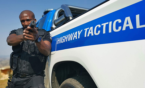 Highway Tactical Officer tracks down and recovers stolen vehicle