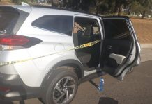 Edenvale high speed chase and shootout, one suspect wounded. Photo: SAPS
