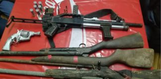 187 Firearms seized during police operations, KZN. Photo: SAPS