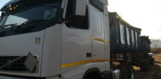 Illegal mining, truck loaded with chrome recovered, Mecklenburg. Photo: SAPS