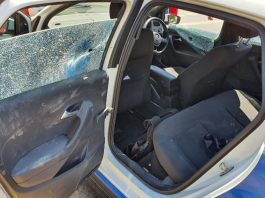Armed response officer comes under fire pursuing hijacker, Kempton Park. Photo: Arrive Alive