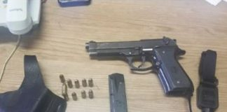 Unlicensed firearms, stolen vehicle recovered, Plessislaer. Photo: SAPS