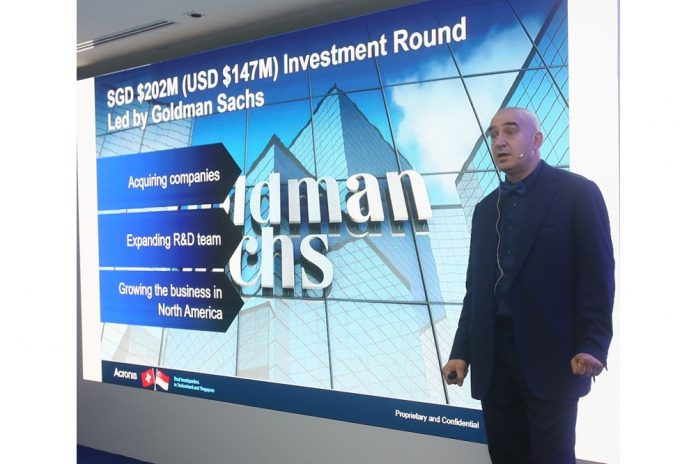 Acronis eyes Middle East market following Goldman Sachs $147 million funding