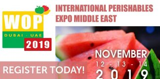 11th Edition of International Perishables Expo Middle East