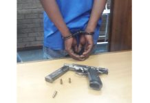 Another firearm recovered, Johannesburg CBD. Photo: SAPS