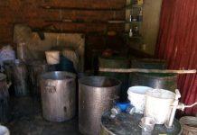Fochville drug laboratory raided, suspects arrested. Photo: SAPS