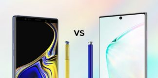 Spec Comparison: the Galaxy Note10+ vs. the Galaxy Note9