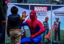 Marvel sets its sights on the Rand Show with an exclusive experience for the kids