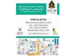 Middle East Stevie Awards attends International SME fair in UAE