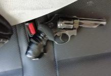Fifth firearm recovered during operation, Northern areas, PE. Photo: SAPS