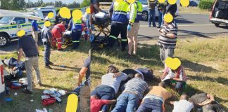 CIT robbers in shootout with police, 3 dead, several wounded, Paarl. Photo: DFW