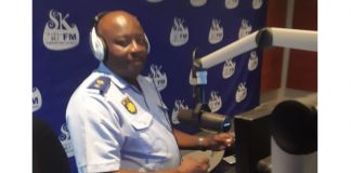 Launch of the 2019 'Safer Festive Season Operations', Limpopo. Photo: SAPS
