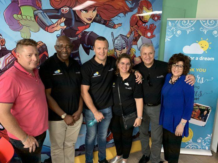 Reach For A Dream and Air Mauritius launch Travel Dream Room at Charlotte Maxeke Hospital