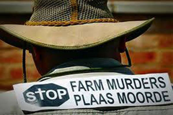 White farmers are being systematically slaughtered in South Africa