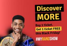 Rand Show Black Friday announcement - Discover