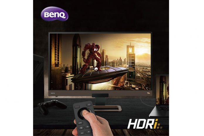 BenQ EX2780Q 144Hz Gaming Monitor Offers the Most Immersive In-game Experience with World's First HDRi Technology