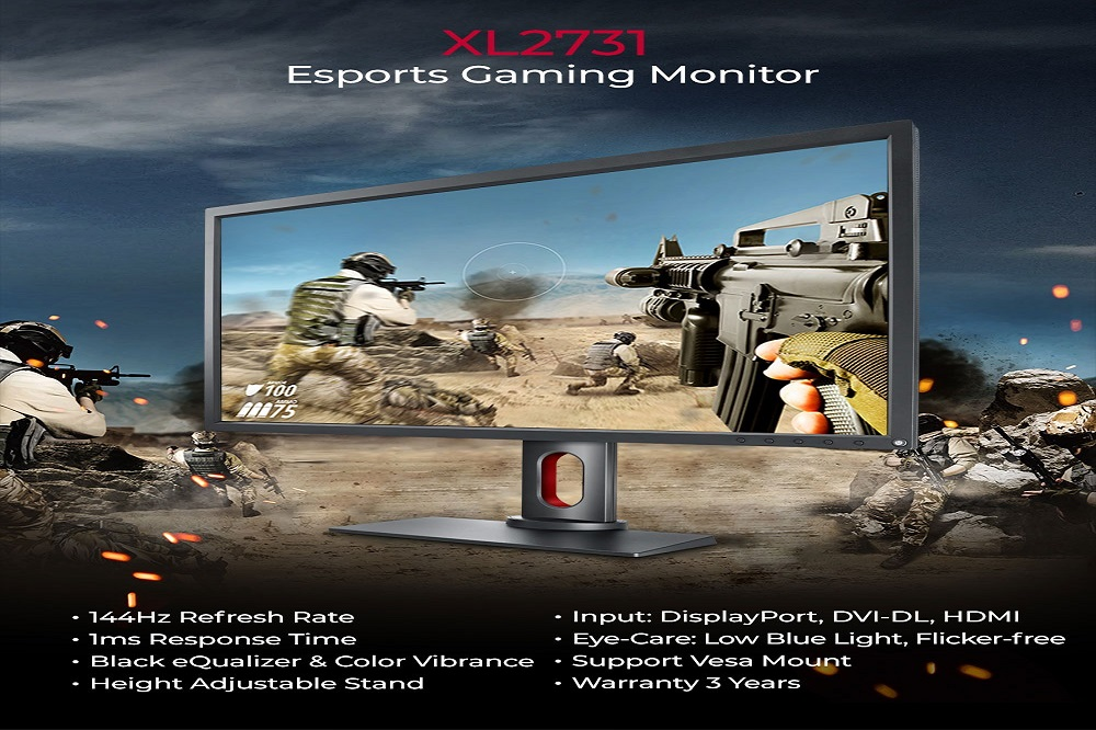 BenQ Introduces New Esports Gaming Monitor, ZOWIE XL2731 With Black eQualizer And Colour Vibrance In Middle East