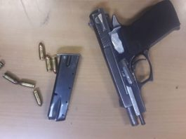 Lotto Wholesalers armed robbery, one arrested, Johannesburg. Photo: SAPS