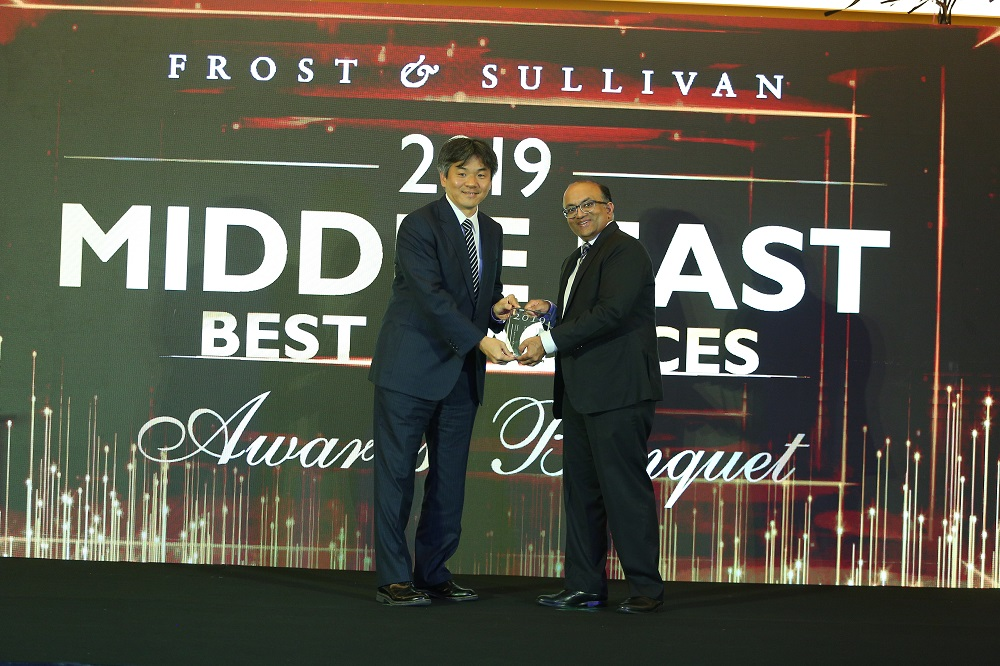 Yokogawa Middle East Wins '2019 Middle Eastern Process Automation Company of the Year Award'
