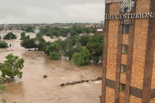 Heavy rain and flooding: Centurion and surrounds. Photo: Arrive Alive