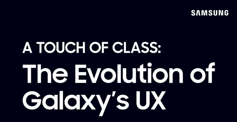 The Road to One UI: An On-screen Evolution