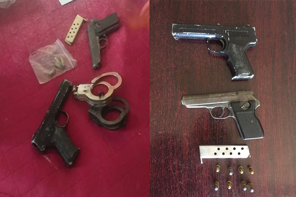 Four suspects arrested for armed robbery, Queenstown. Photo: SAPS