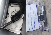Crackdown on proliferation of illegal firearms, Cape Town. Photo: SAPS