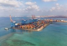 The Doraleh Container Terminal, a leading trade and logistics hub between Asia, Africa and the rest of the world. © Presidency of Djibouti