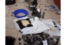 Drugs worth R10mil recovered, laboratory closed down, Kimberley. Photo: SAPS