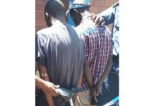 Bicycle robbed at knifepoint, 2 arrested, Kimberley. Photo: SAPS