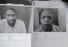 2 Escapees re-arrested, Kuruman correctional services. Photo: SAPS