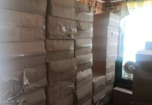 Police recover illegal cigarettes worth R312k, Meyerton. Photo: SAPS