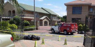 Home invader shot dead, another injured, Rustenburg. Photo: Arrive Alive