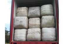 R8 million worth of sheep wool recovered, Fouriesburg. Photo: SAPS