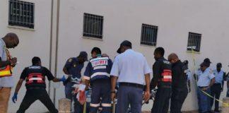 Man shot dead outside Verulam court. Photo: Arrive Alive