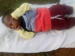 Kidnapped baby sought, Parow. Photo: SAPS