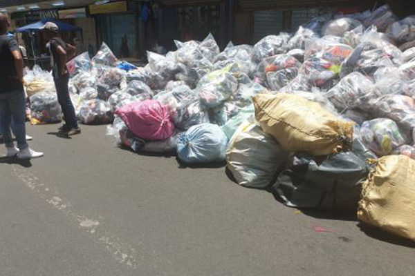 R36 million worth of counterfeit goods recovered, Johannesburg. Photo: SAPS