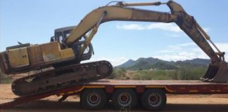 9 Illegal miners arrested, R6 mil worth of equipment recovered, Apel. Photo: SAPS