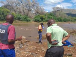 Spiritual healer who vowed to find boy swept away by river - drowns. Photo: SAPS