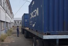 Storage containers cut open, R3 mil worth goods recovered, Alrode. Photo: SAPS
