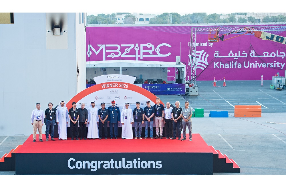 Czech Technical-UPenn-NYU Team Wins Grand Challenge in US-Million MBZIRC2020 organized by Khalifa University