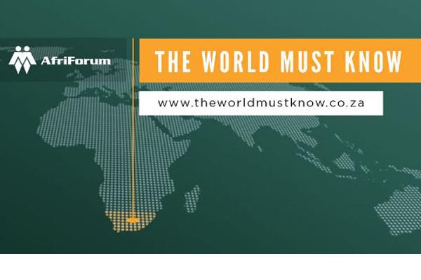 Expropriation in South Africa: AfriForum warns foreign investors Photo: AfriForum