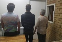 Murder of woman (84), mother, son and friend arrested, Fochville. Photo: SAPS