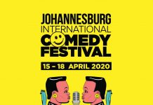 Africa's favourite celebration of comedy, Johannesburg International Comedy Festival, returns with more laughs in April 2020