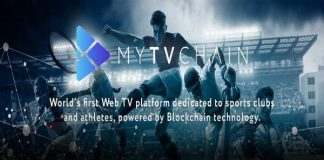 MYTVCHAIN.COM record growth for the first Blockchain ​​WEB TV Platform dedicated to sports clubs and athletes