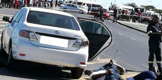 Bystander wounded in shootout with Paarl armed robbers. Photo: SAPS